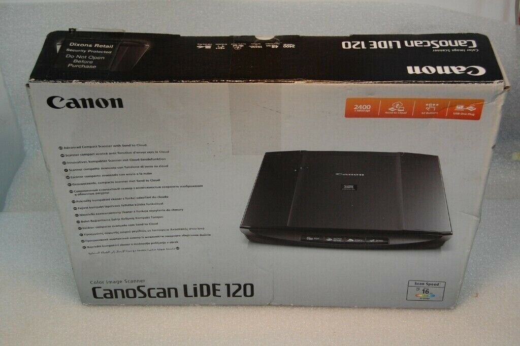 Canon CanoScan LiDE 120 Flatbed Scanner   in Southside, Glasgow   Gumtree