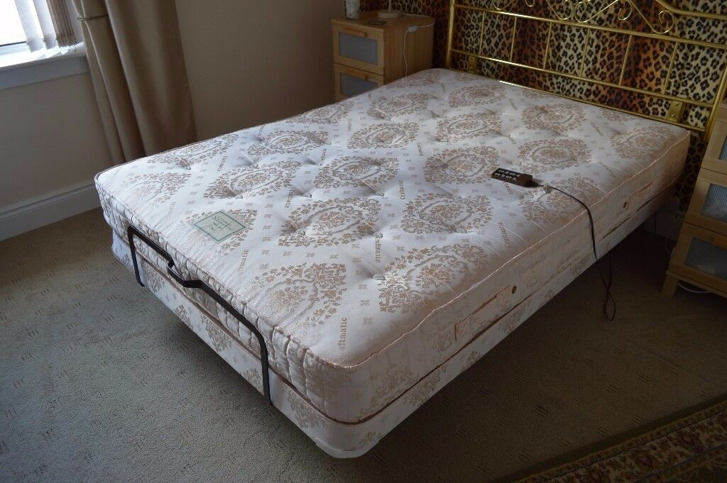 craftmatic adjustable double bed