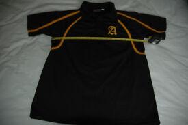Abbeyfield School Boys Short Sleeve PE Shirt