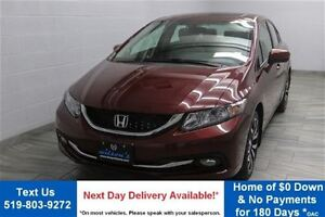 2015 Honda Civic Touring! w/ LEATHER! SUNROOF! REVERSE CAMERA! H