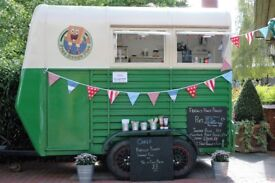 Food Trailer and Wedding Catering Business for Sale - includes bookings for 2018 and 2019