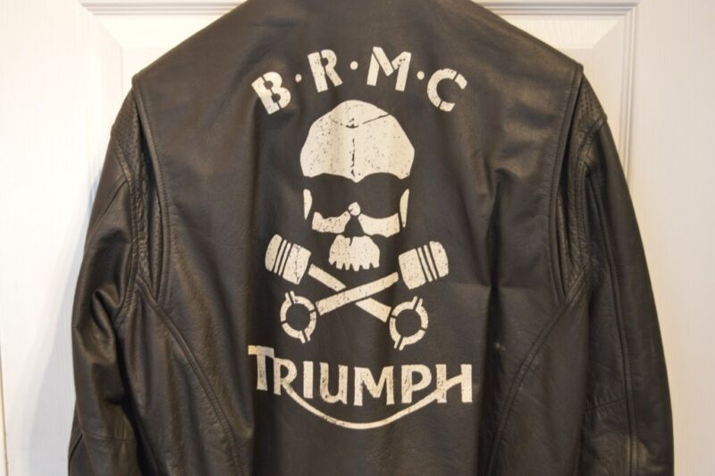 Leather Triumph Motorbike Jacket for sale  Risca, Wales