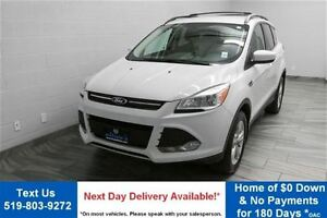 2013 Ford Escape SE 4WD 2.0L ECOBOOST! NAVIGATION! ALLOYS! HEATE