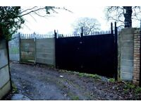 Storage Yard/ Available now/approx 130m2/£360 per month/SE London//yard 2//