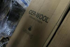 CER-WOOL Ceramic Fiber, HP-6 type, 1x48x300