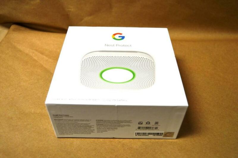 Google Nest Protect Smoke and Carbon Monoxide Alarm S3000BWES