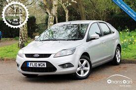 2010 Ford Focus 1.6 Zetec 5dr £4100