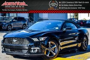 2016 Ford Mustang V6|Security Pkg|RearCam|Bluetooth|RearParkAssi