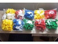 MEGA BLOKS Lot - Massive 297 Bloks Collection
