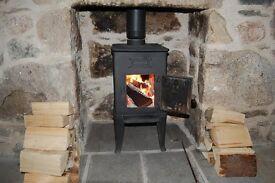 Ulfos 864 – 4kW Norwegian Cast Iron Log Stove