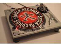 Technics SL1200 Mk2 Silver vinyl Decks Turntable Excellent Condition