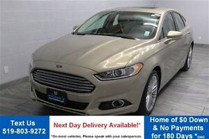 2016 Ford Fusion SE AWD 2.0L ECOBOOST! NAVIGATION! LEATHER! SUNR