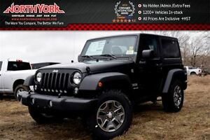 2017 Jeep Wrangler New Car Sport S 4x4|Manual|Dual Top.Pwr Convi