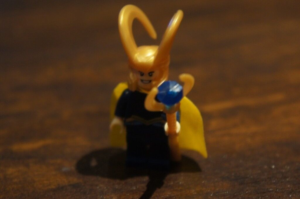 Selling CUSTOM MADE Loki lego Mini figure | in Bexleyheath, London | Gumtree