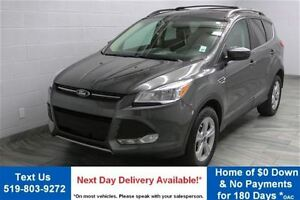 2015 Ford Escape SE 4WD 2.0L ECOBOOST! REVERSE CAMERA! ALLOYS! P