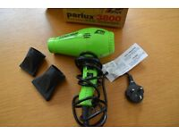 Parlux 3800 eco friendly Ionic & Ceramic Hair Dryer - GREEN un-used