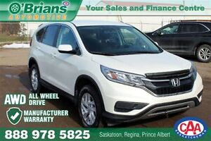 2015 Honda CR-V SE - AWD MFG WARRANTY