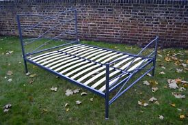 Metal Double Bed Frame - Nearly New