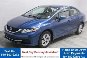 2013 Honda Civic LX  HEATED SEATS! BLUETOOTH! CRUISE CONTROL! KE
