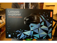 Lenovo Explorer Windows Mixed Reality Headset, boxed, with extended warranty!