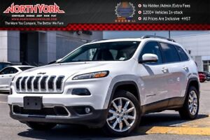 2017 Jeep Cherokee Limited|Pano_Sunroof|Leather|Nav|Backup Cam|R