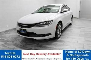 2015 Chrysler 200 S w/ HEATED SEATS! PARTIAL LEATHER! ALLOYS! PO