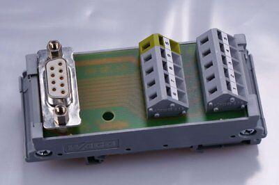 WAGO 289-575   Übergabebaustein; mit Sub-Min-D-Buchsenleiste; 9-polig