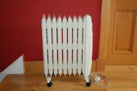 Dimplex electric (oil free) radiator