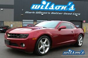 2011 Chevrolet Camaro RS PACKAGE! SPORT SUSPENSION! HEADS UP DIS