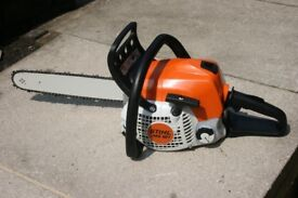 Stihl MS181 petrol chainsaw