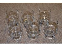 Set of 6 whisky/water glasses