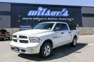 2015 Ram 1500 Outdoorsman 4X4! CREW CAB! HEMI! POWER SEAT! TOW P