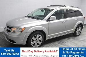 2010 Dodge Journey R/T AWD! 7 PASS! LEATHER! SUNROOF! TV/DVD! RE