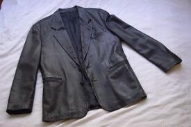North Beach Leather Michael Hoban Mens Jacket 40L