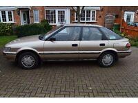1988 Toyota Corolla 1.3 gl genuine 18562 mileage .