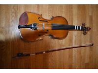 Excellent Condition Size 1/2 Violin