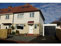 3 Bedroom Semi/End Terrace NE15 - Recent kitchen, garage, driveway, gardens, refurbished, £129,950