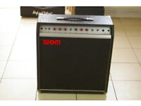 WEM Dominator 25 Guitar/Bass Amplifier Vintage 1970s Valve AMP WILL POST