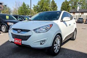2013 Hyundai Tucson LIMITED, AWD, DUAL SUNROOF, NAVI, AUTO