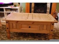 Pine coffee table