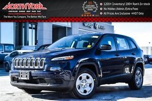 2016 Jeep Cherokee NEW Car|Sport|Keyless Entry|Bluetooth|A/C|Tra
