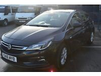 2016 Vauxhall ASTRA ecoflex Drive and runs sperb LOW MILEAGE and Long MOT