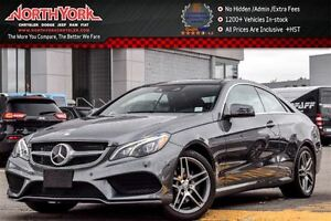2016 Mercedes-Benz E400 4Matic|Premium,Sports Pkgs|Nav|H/K Audio