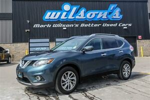 2014 Nissan Rogue SL 4WD!  LEATHER! SUNROOF! NAVIGATION! BLUETOO