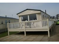 STATIC CARAVAN FOR HIRE - 8-BERTH CARAVAN PET FREE - GREAT HOLIDAY RENT/LET IN HUNSTANTON NORFOLK