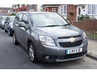 Chevrolet Orlando 2.0 VCDi LTZ 7 Seater Family Car with Satnav and IPhone connectivity through USB
