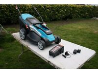 Battery powered Lawn Mower 42 CM cut Model Gardena 42 Li