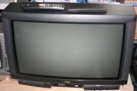 """JVC 28"""" widescreen CRT television - not flatscreen."""