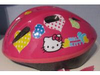 Girl's Cycling Helmet - Hello Kitty.