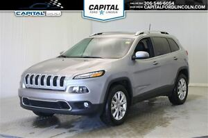 2016 Jeep Cherokee Limited 4WD **New Arrival**
